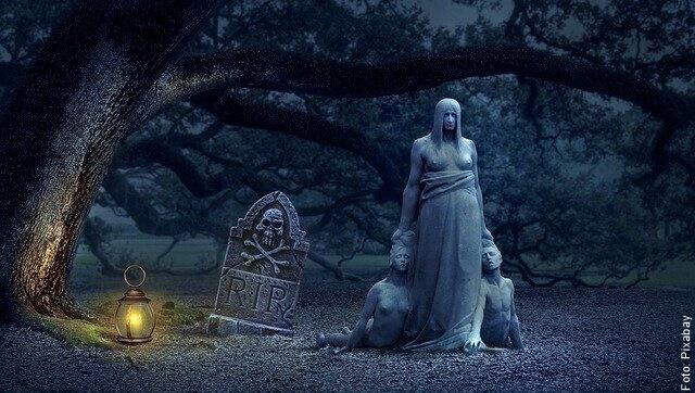 foto de cementerio