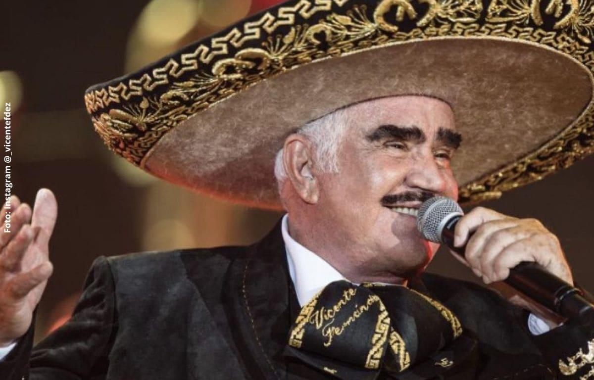 Vicente Fernández no volvería a cantar tras una traqueotomía