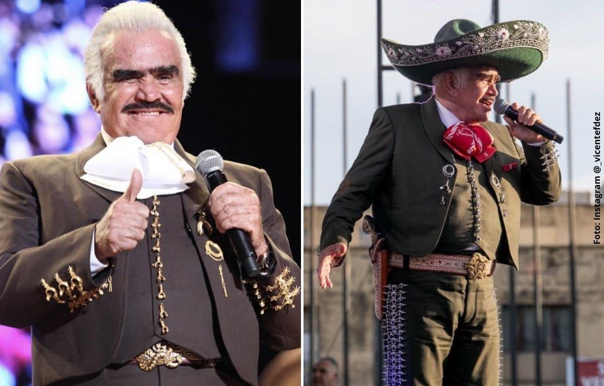 Vicente Fernández tuvo grave accidente en su rancho