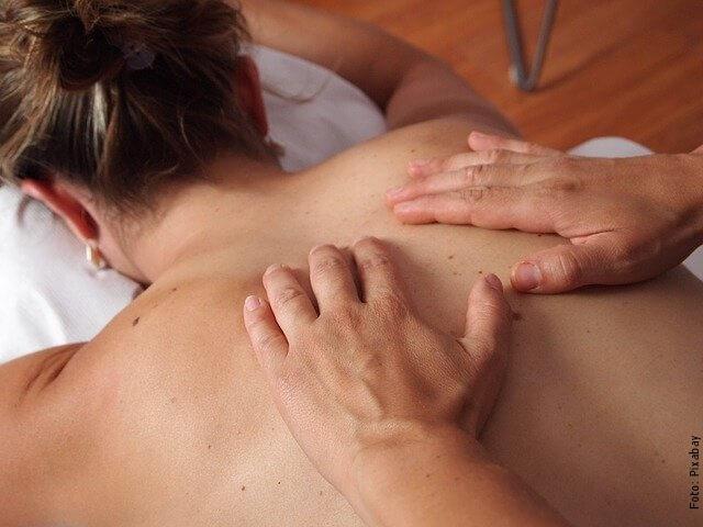foto de masaje