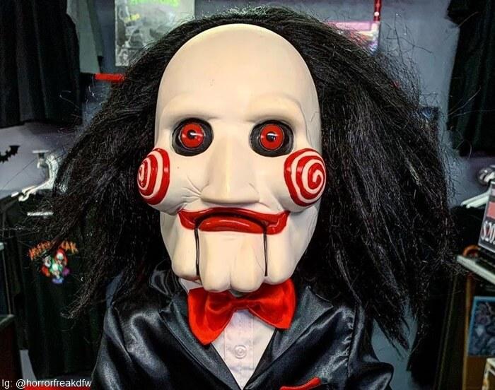 Máscara Billy de la saga Saw