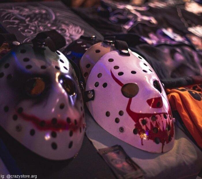Máscaras de Jason de la película Viernes 13
