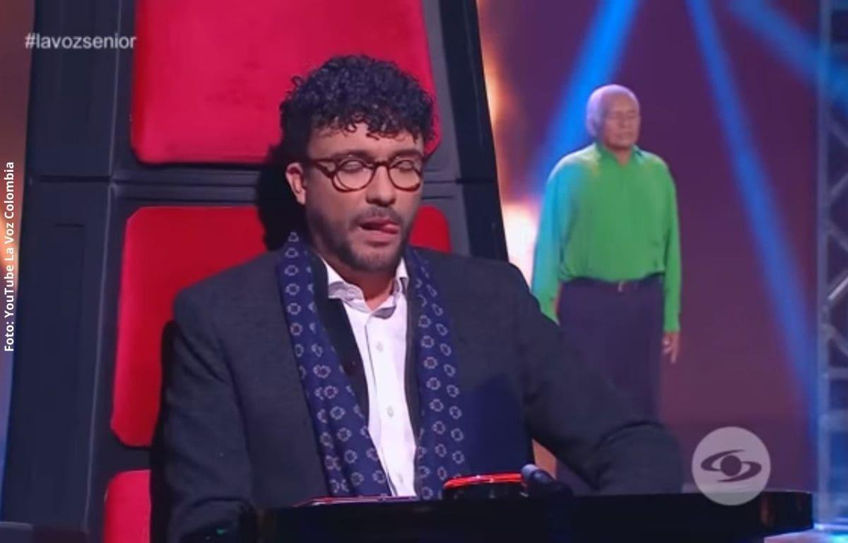 Abuelito se presentó en 'La Voz Senior' y lo mandaron para otro reality
