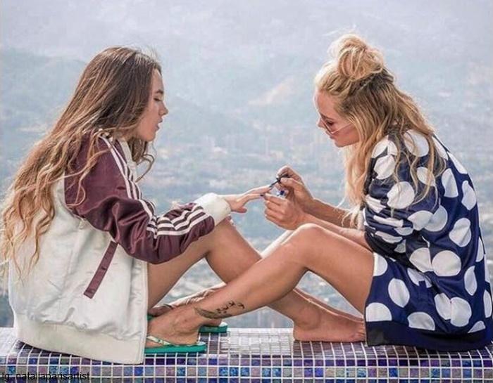 Foto de Natalia Paris y su hija Natalia Correa porque te presentamos a las modelos y actrices con hijas idénticas