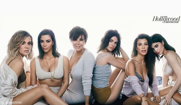 Foto de las mujeres de la familia Kardashian