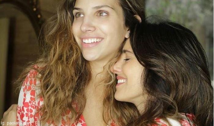 Foto de Pola Turbay junto a Sofia Estrada porque Te presentamos a las modelos y actrices con hijas idénticas