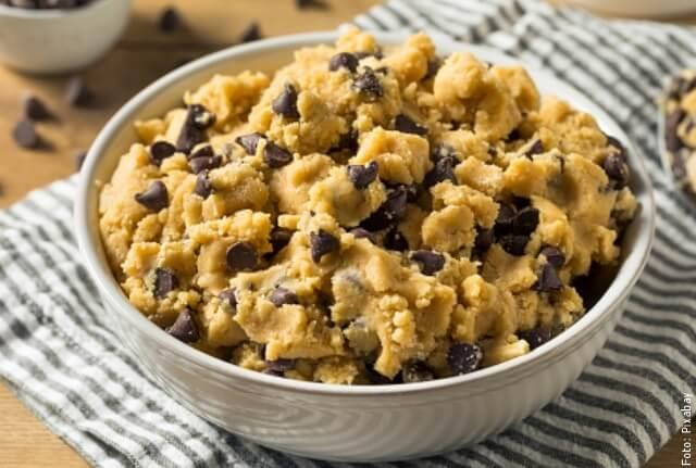 foto de masa para hacer galletas