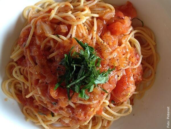 foto de espagueti