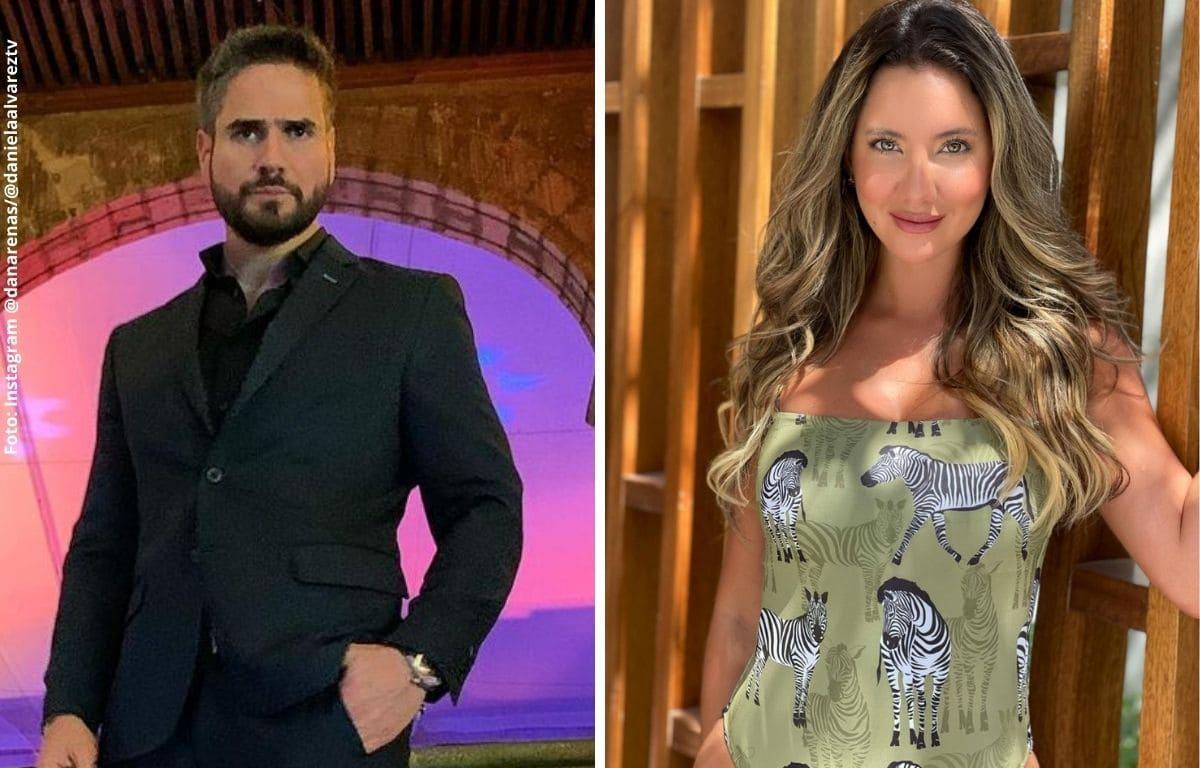 Daniel Arenas y Daniella Álvarez habrían confirmado su relación