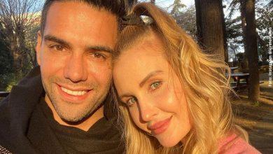 Esposa de Falcao revela si en algún momento ha pensado en separarse