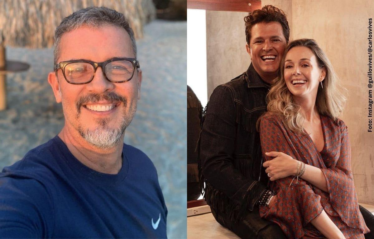 Guillermo Vives se sincera sobre la relación con su hermano Carlos Vives