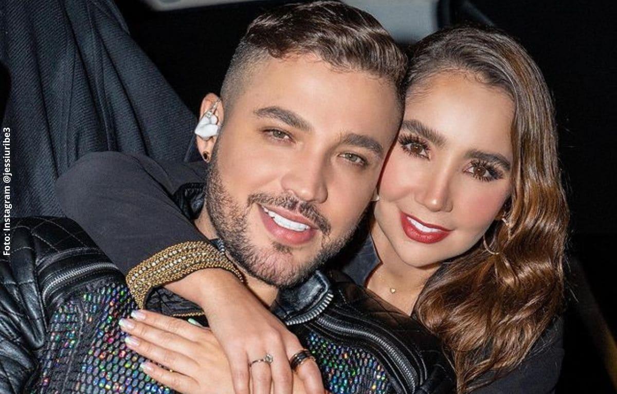 """Jessi Uribe llamó """"demonios"""" a quienes aún critican su relación"""