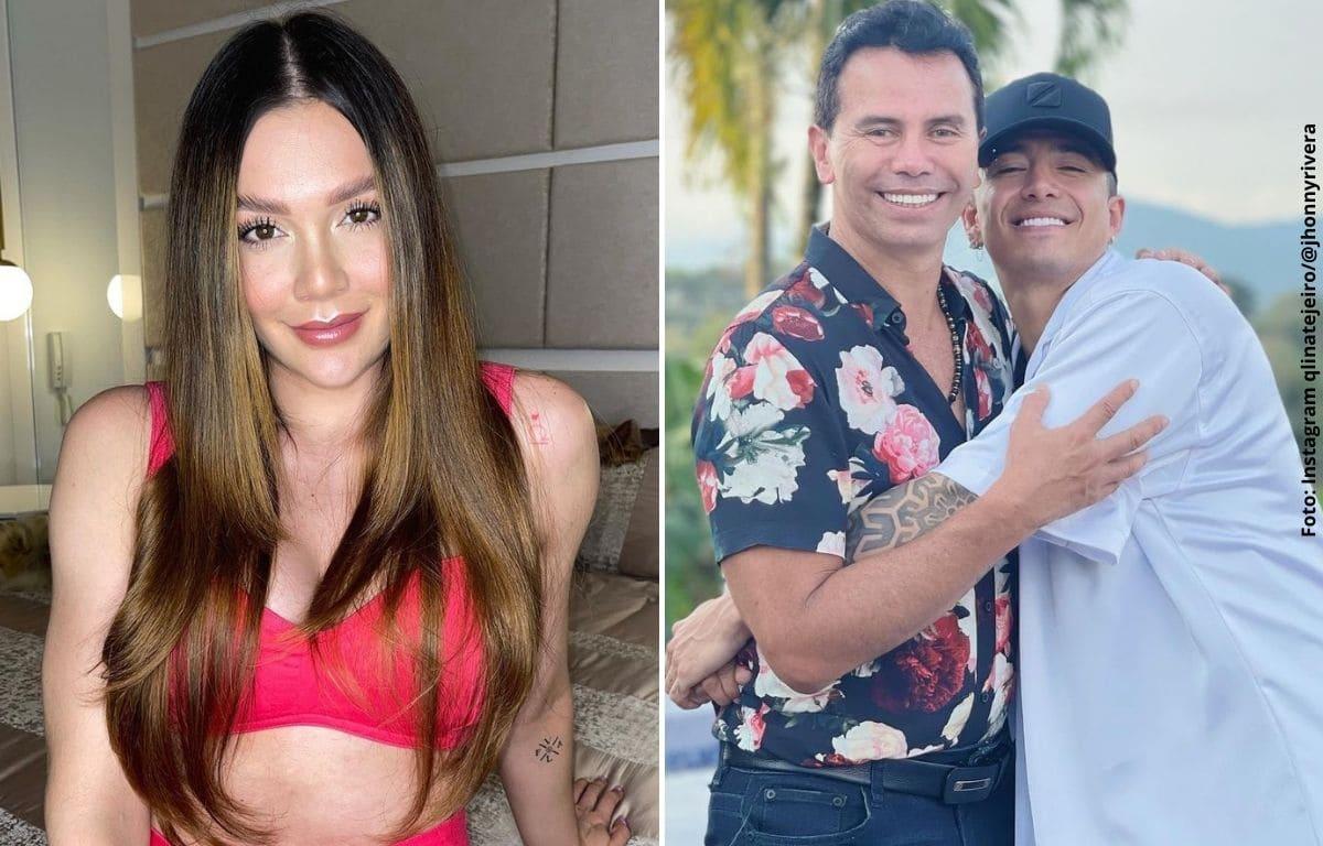 Lina Tejeiro le mandó indirecta a Andy Rivera por comentario de su papá