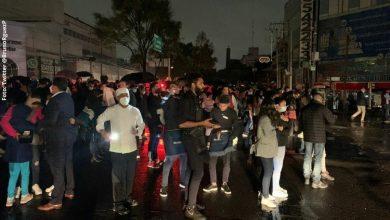 Luces en el cielo y mucho pánico se vio en videos sobre el temblor de México