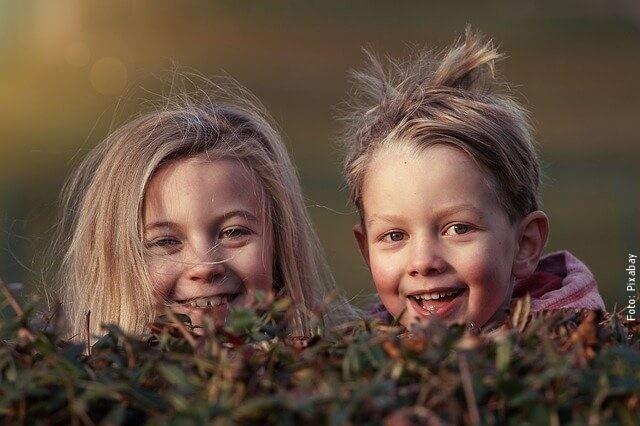 foto de niños