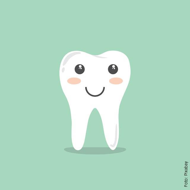 ilustración de un diente