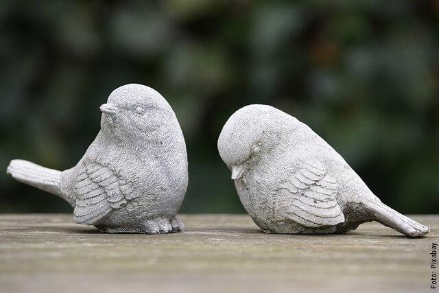 foto de cerámicas de aves