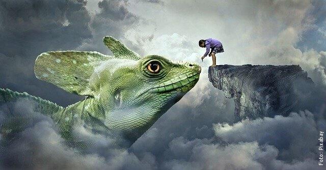 ilustración de lagartos