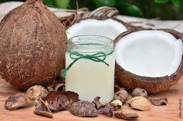 foto de aceite de coco