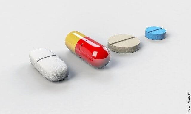 foto de pastillas