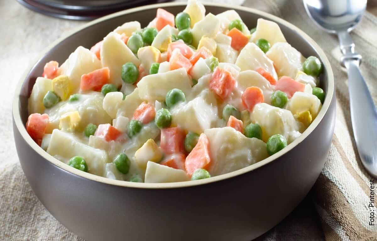 Receta de ensalada de papa, ¡sencilla y deliciosa!