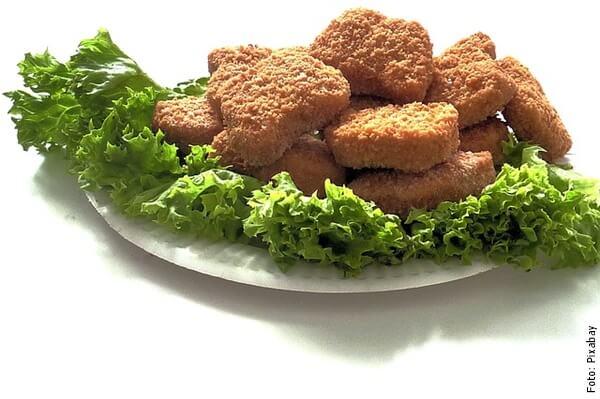 foto de nuggets de pollo