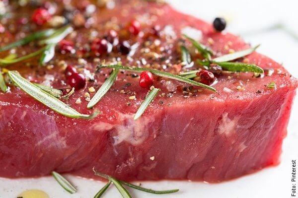 foto de carne cruda