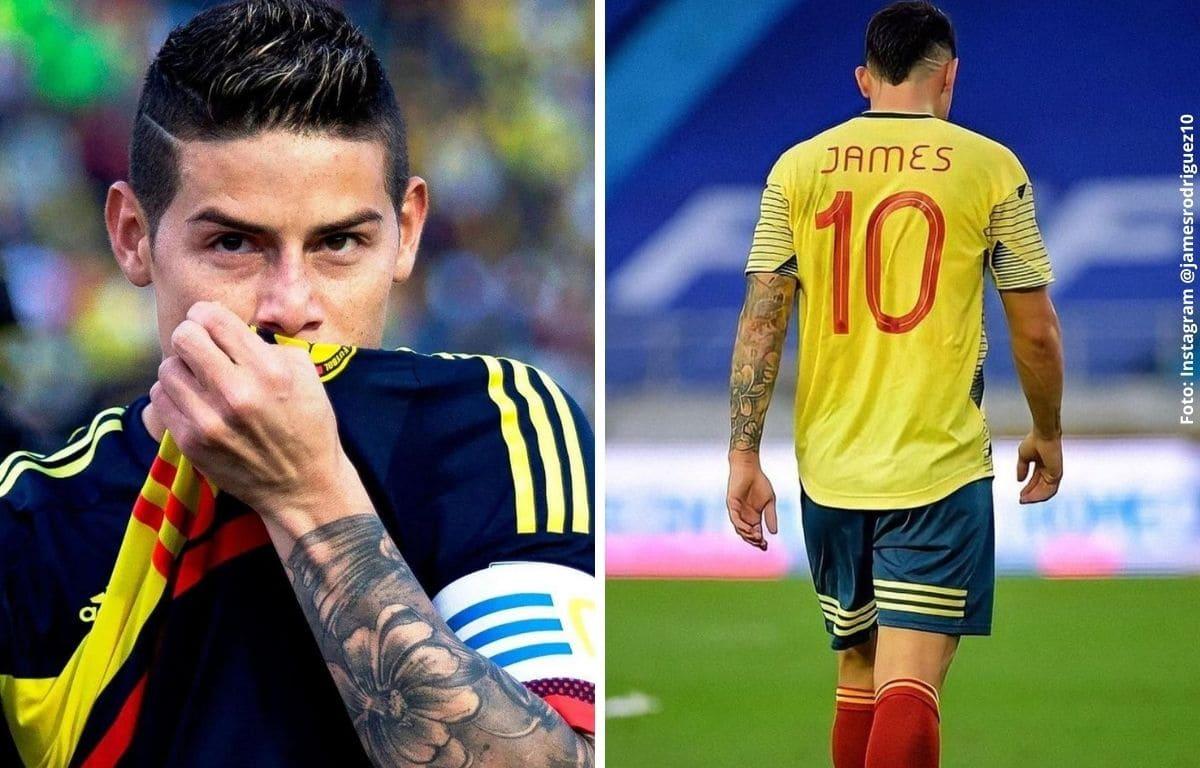 Reúnen firmas para que James Rodríguez regrese a la Selección Colombia