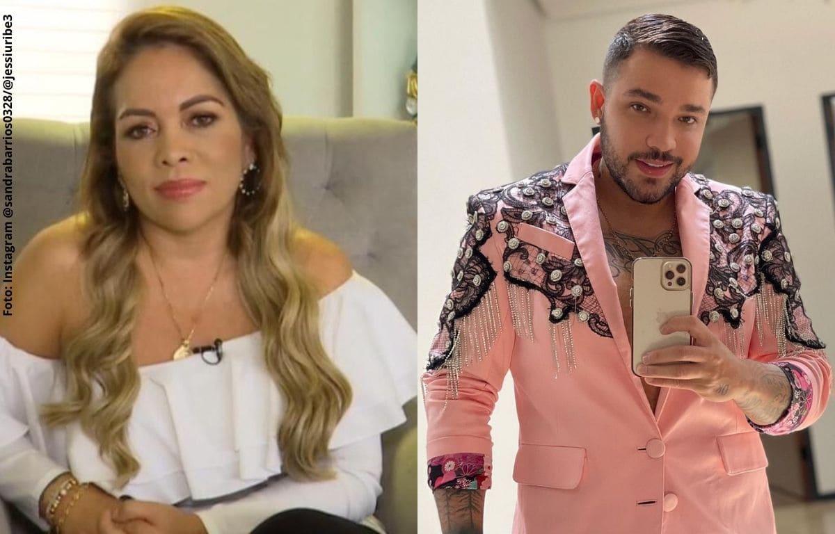 Sandra Barrios le habría enviado indirecta a Jessi Uribe en redes