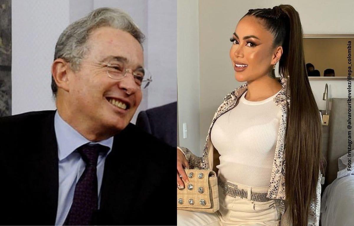 Uribe se burla de sí mismo con meme de las keratinas de Epa Colombia