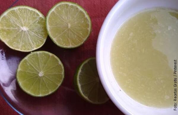 foto de zumo de limón