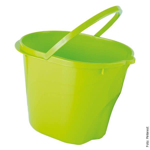 foto de un balde