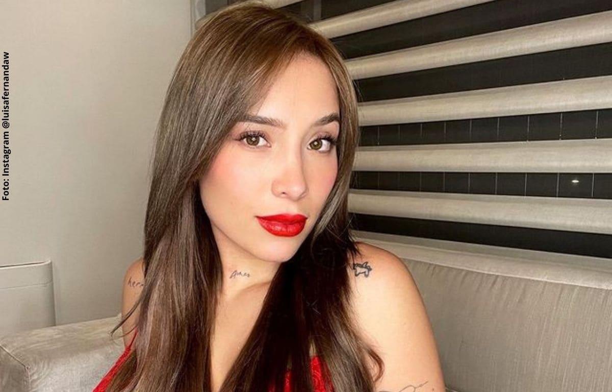 Las provocativas fotos de Luisa Fernanda W a las que le hicieron zoom
