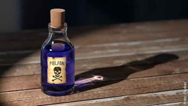 foto de veneno