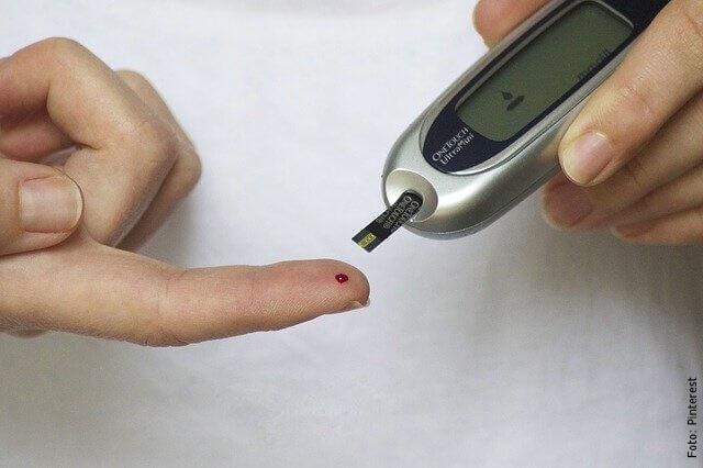 foto de diabetes