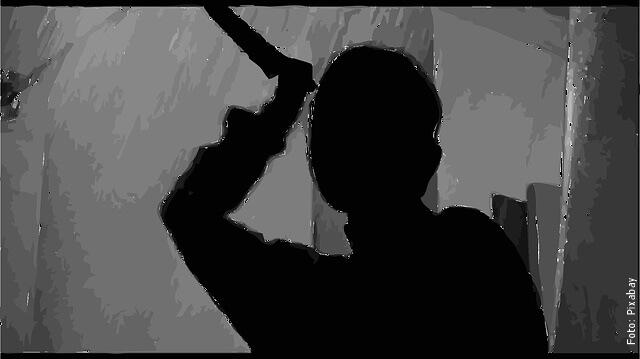 ilustración de miedo