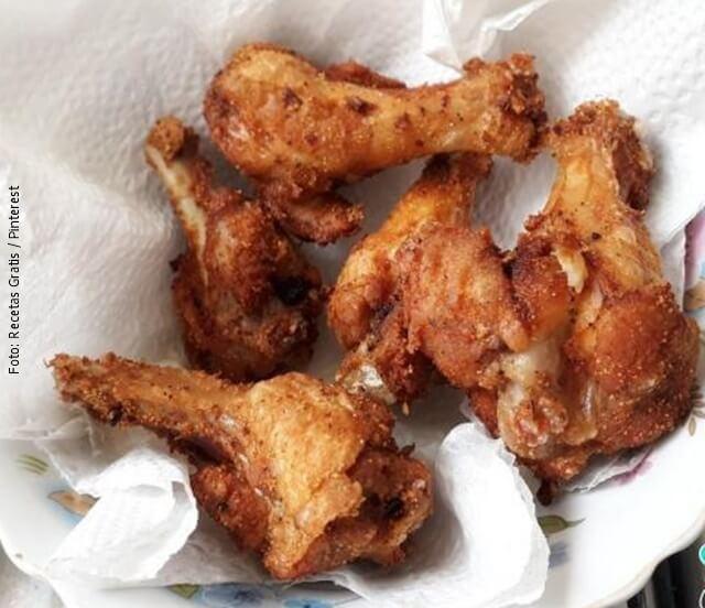 foto de pollo frito