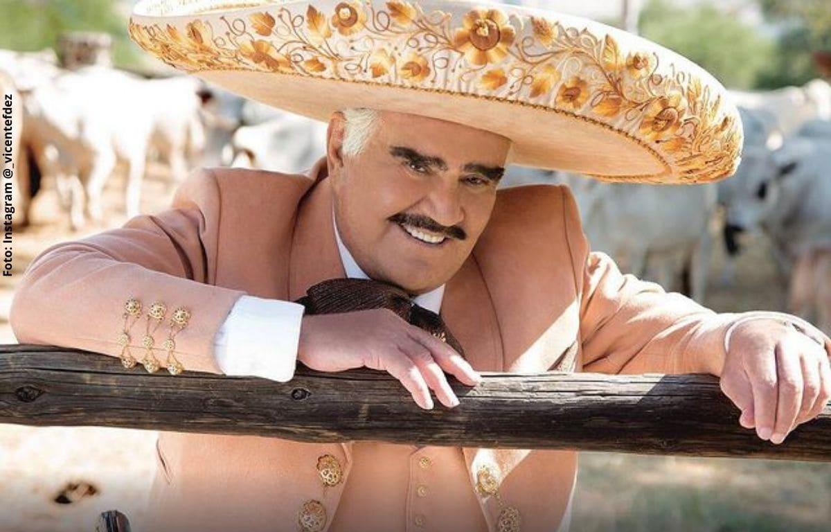 Se conoce al actor que interpretará a Vicente Fernández en su bioserie